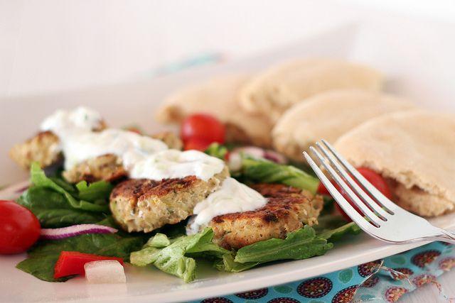 Greek Turkey Meatballs with Tzatziki Sauce by SunnySideUpSD, via ...