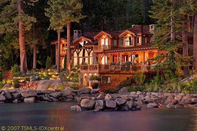 Beautiful Log Cabin For The Home Pinterest