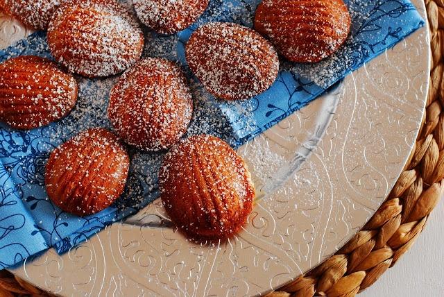 Call Me Fudge: Vanilla Bean Madeleines | food | Pinterest