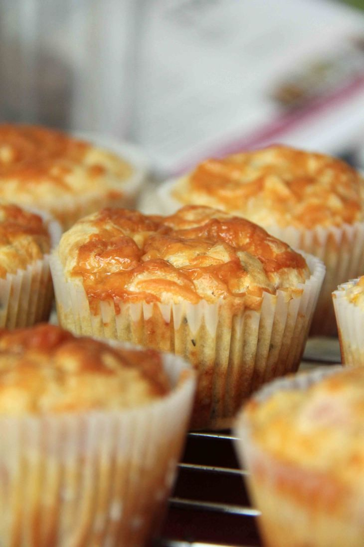 Bacon, Cheddar & Corn Muffins | Favorite Recipes | Pinterest