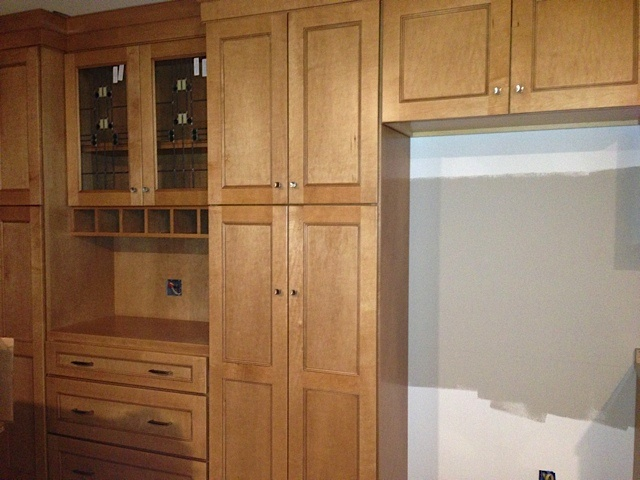 in Maple Sesame with Burnt Sienna Glaze [Copper River Cabinet Company