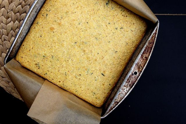 Brown Butter Rosemary Orange Cornbread Recipe — Dishmaps