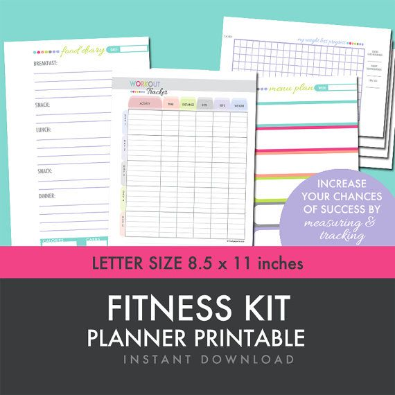 weight loss planners