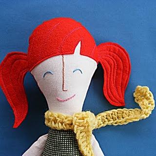 Quaint and Quirky: Rag Doll Tutorial - Hair