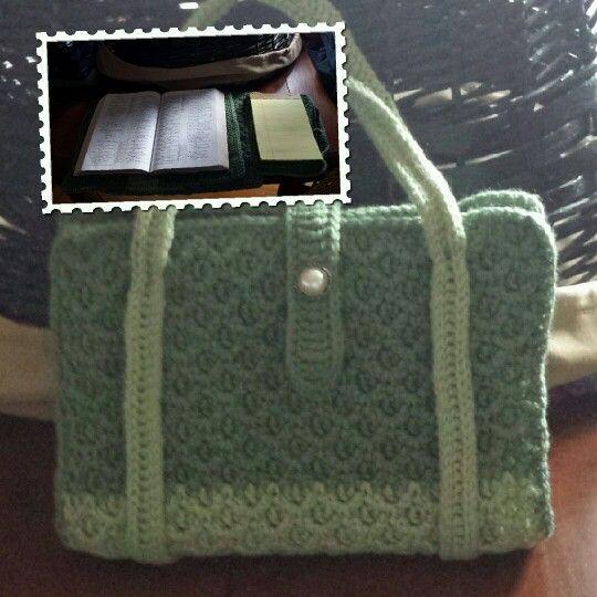 Easy Crochet Bible Cover Pattern : Bible cover Crochet II Pinterest