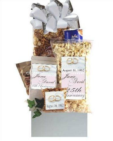 Gift Basket Ideas For Wedding Anniversary : Pin by Gifts Library on Wedding Anniversary Gifts Pinterest