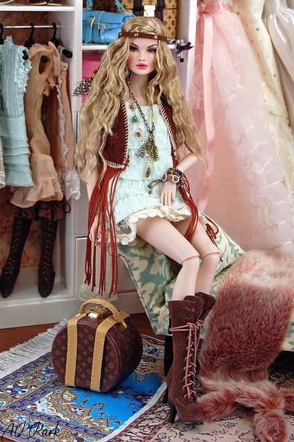 Bohemian Barbie Good Golly Miss Dolly Pinterest