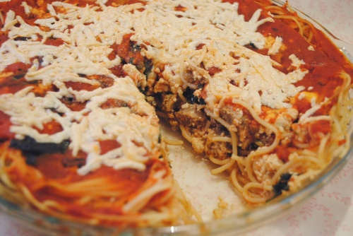 Vegan Spaghetti Pie with Tofu Ricotta   Vegan Delish   Pinterest