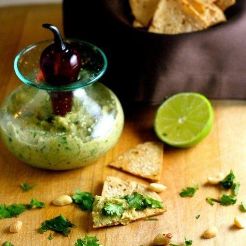 Roasted Peanut Habanero Salsa HealthyAperture.com