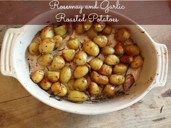 Rosemary and Garlic Roasted Potatoes | Food. | Pinterest