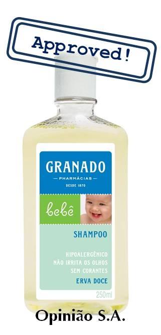 Granado – Shampoo de Erva Doce para Bebê