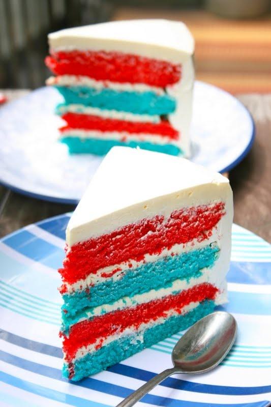 Fourth of July Cake | cakes | Pinterest