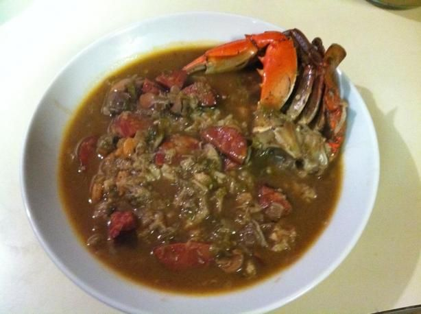 Paul Prudhomme Seafood & Andouille Gumbo...can't go wrong with this ...
