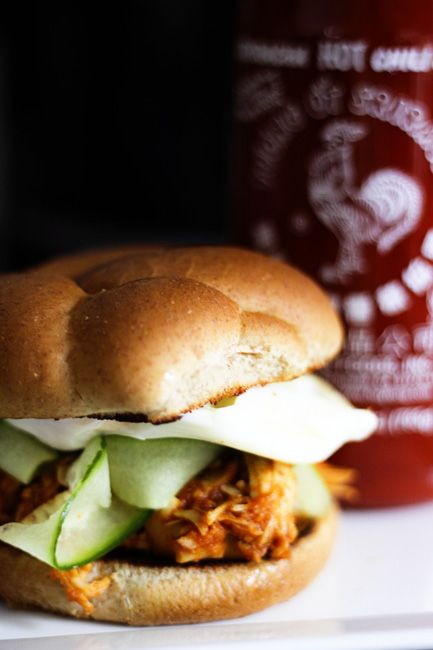 Slow-Cooker Honey Sriracha Barbecue Chicken | Make Ahead Mondays | Re ...
