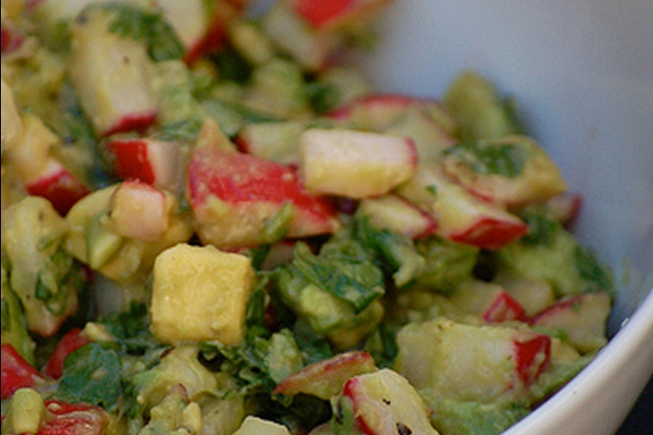 Avocado and feta salsa | Tappas | Pinterest