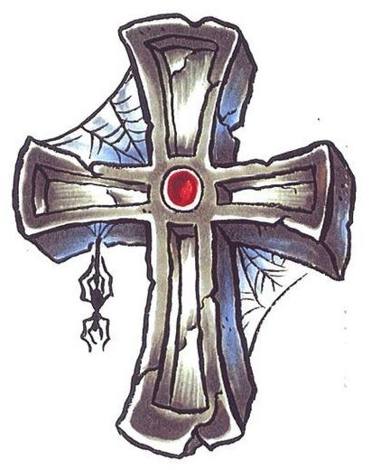 Pin by fran lafferty on cool crosses pinterest for Old rugged cross tattoo designs
