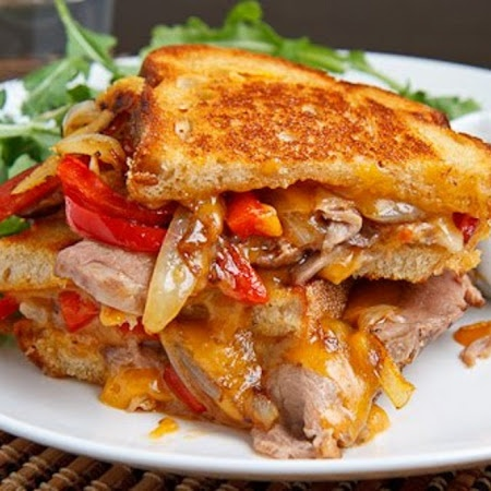 Roast Beef Grilled Cheese Sandwich | The Great Grilled Cheese | Pinte ...