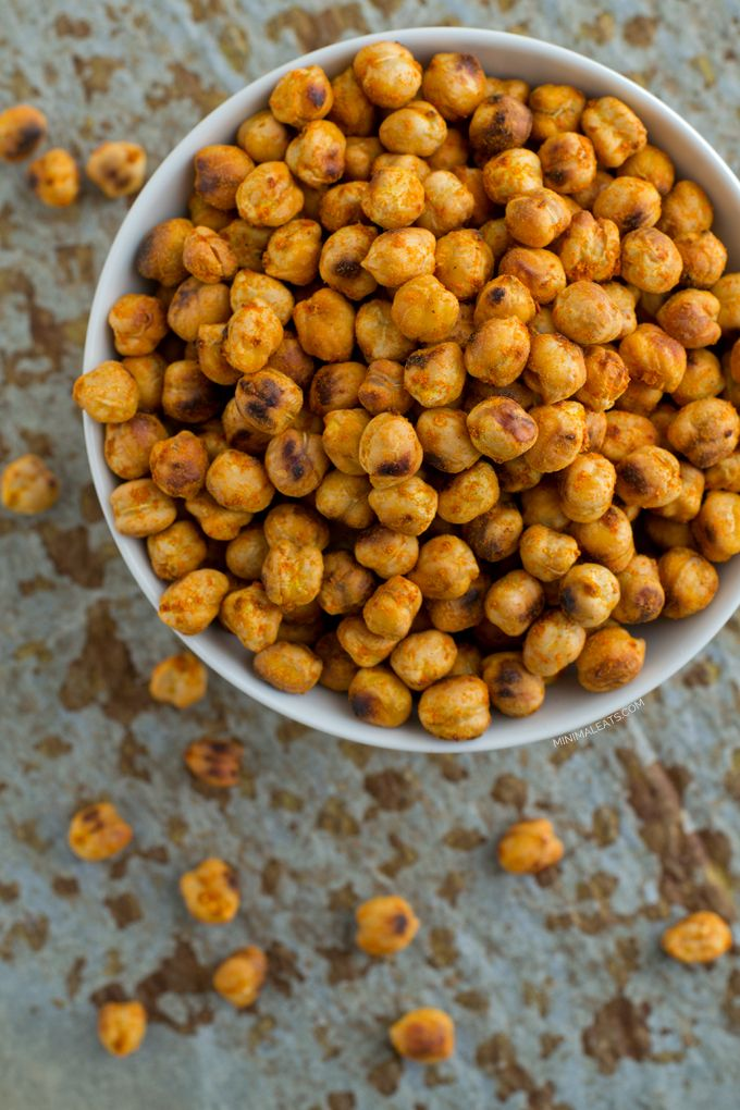 Roasted Chickpeas | minimaleats.com