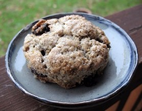 Oaty Cornmeal Scones with Sour Cherries | Baking- Muffins, Scones, Bi ...