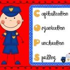 COPS...love this acronym! Always use this before turning in work: Capitalization, Organization, Punctuation, Spelling