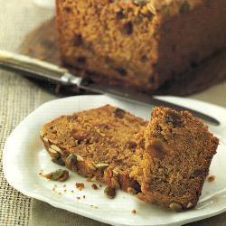Spiced pumpkin teabread | Baking | Pinterest