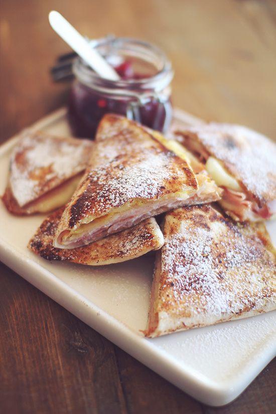 Monte Cristo Wrap Sandwich | Comfort Food | Pinterest