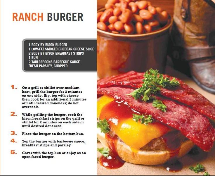 Bison Ranch Burger