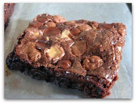 Whopper brownies. My mom makes these the best.