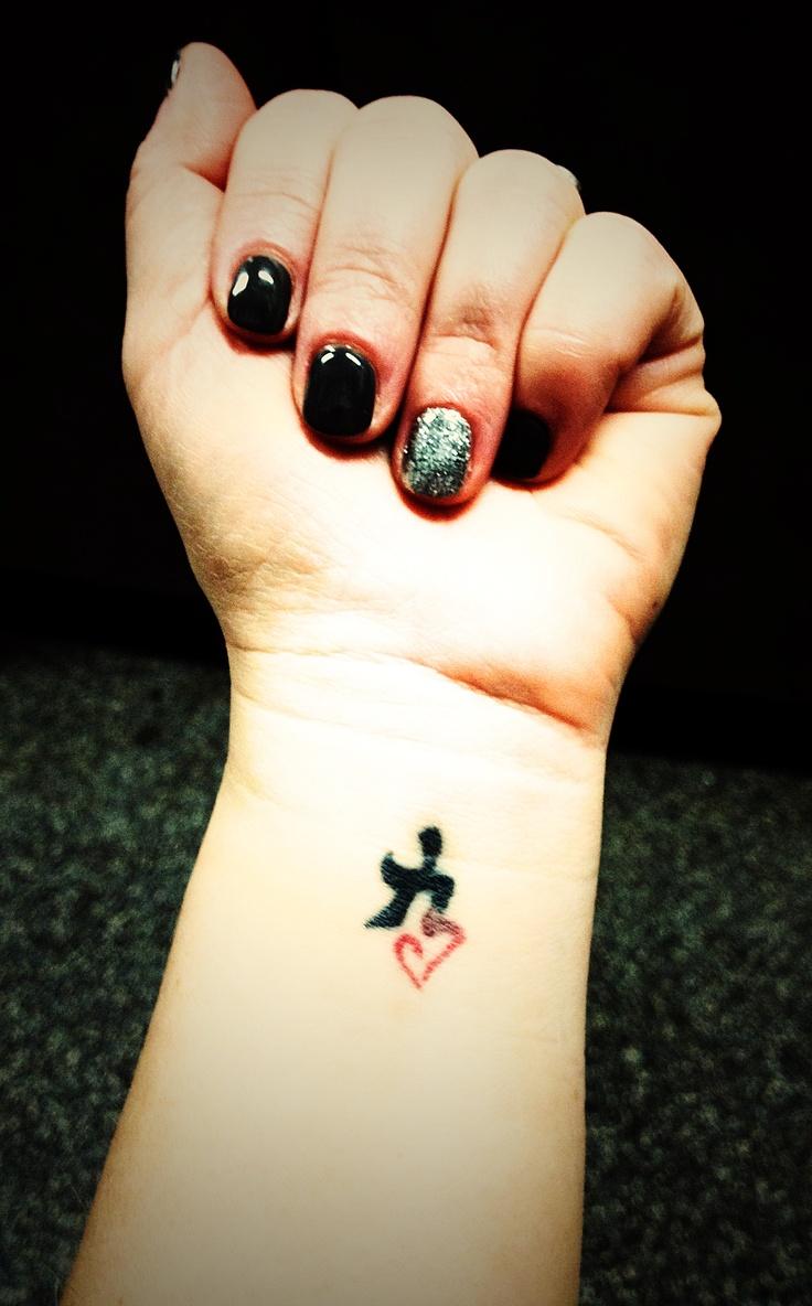 Strength Tattoos On Wrist