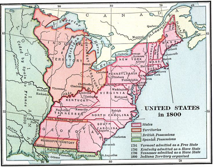 Us Map Images Reverse Search - Us map in 1800