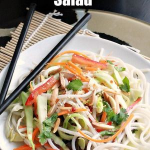 Vermicelli Rice Noodle Salad | Recipes and Food | Pinterest