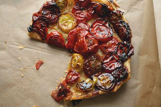 Heirloom Tomato Tarte | Better Homes | Pinterest