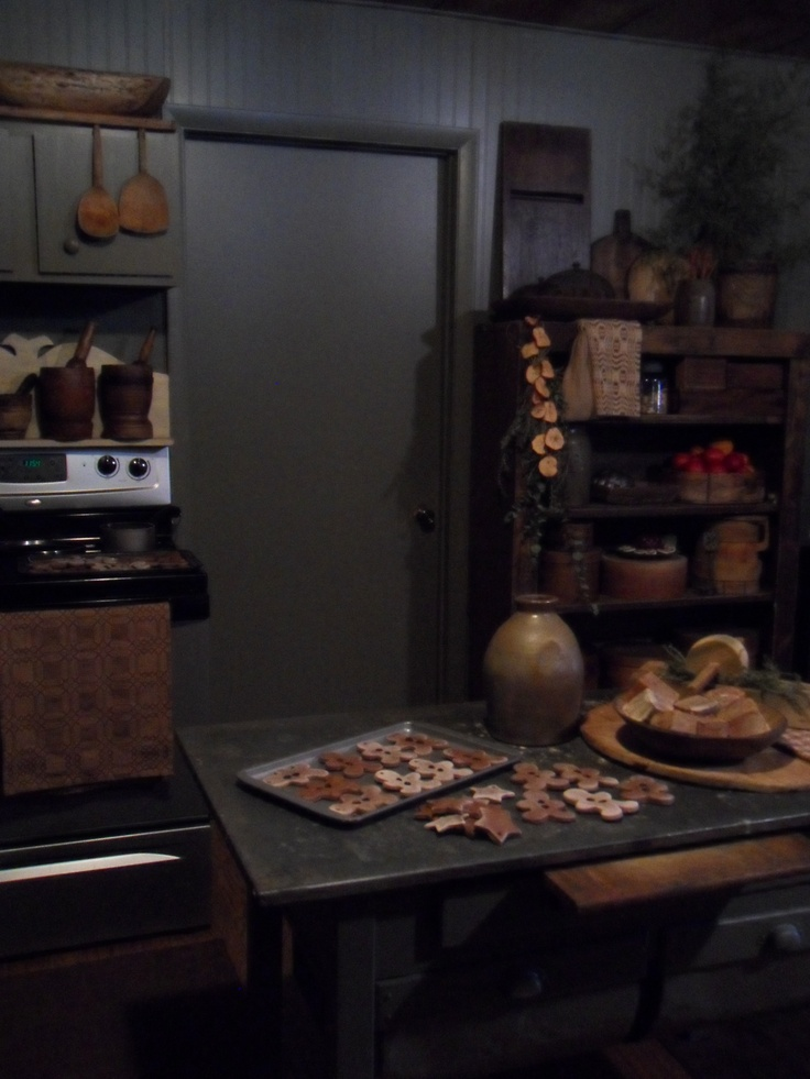 Kitchen Primitive Home Decorating Pinterest