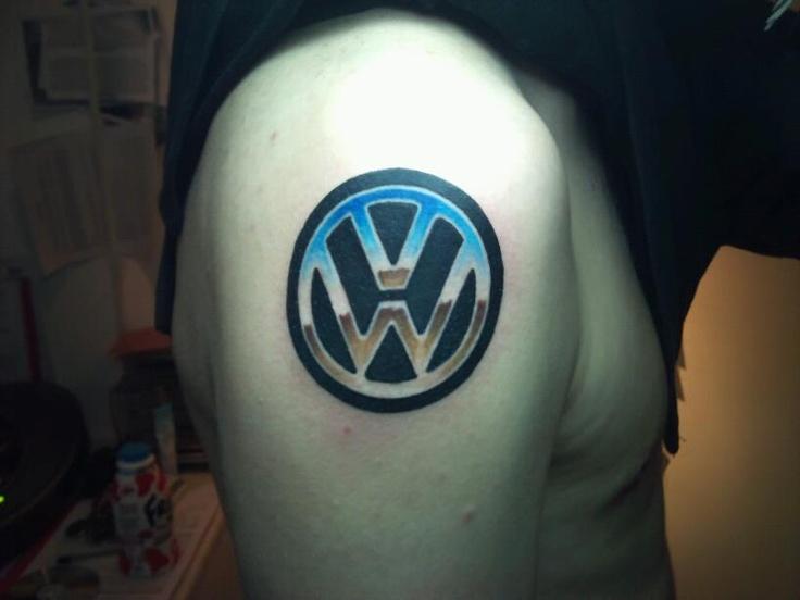 VW Logo Tattoo | Das VW Tattoos | Pinterest