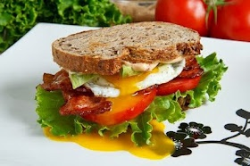 Avocado BLT with Fried Egg And Chipotle Mayo | Recipe