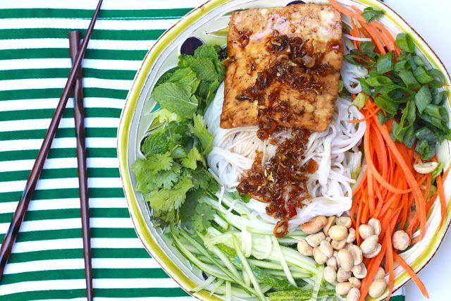Vietnamese Tofu Bun | Vegan | Pinterest