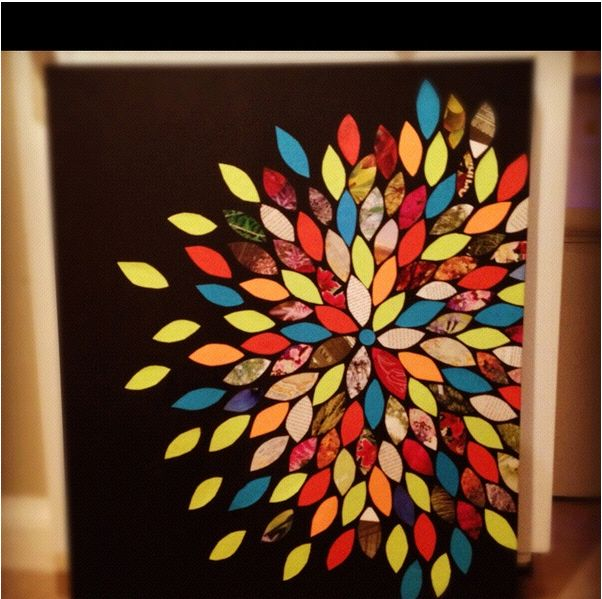 Paint chip art home decor ideas pinterest for Arts and craft paint