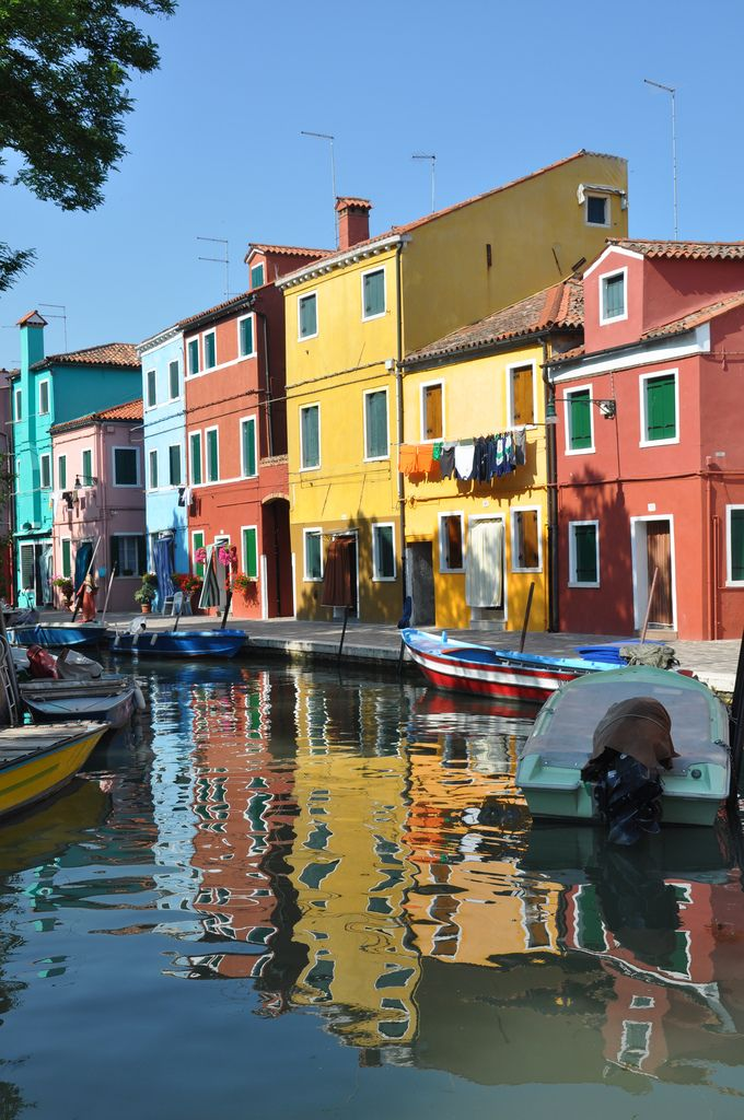 Burano - Island of the Colorful Houses in the Venetian Lagoon