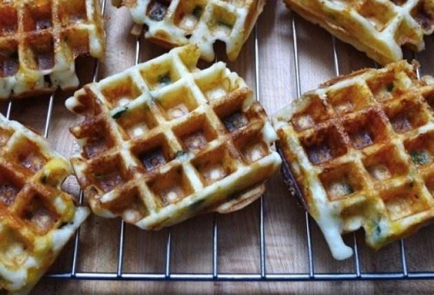 gluten-free jalapeno popper waffles | food i wanna make | Pinterest
