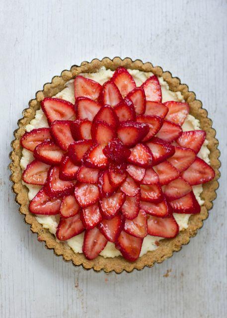 strawberry mascarpone tart. add lemon zest. love the recipe for ...