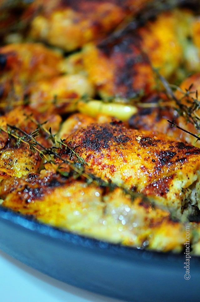 Easy Skillet Braised Chicken With Peppers And Paprika Recipes ...