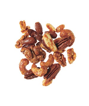 Sweet and Spicy Nuts. I made these around Christmas to just leave on ...
