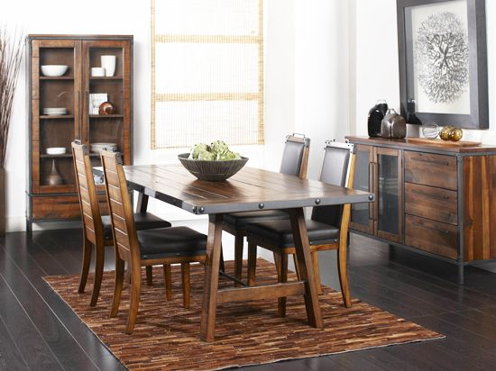 Dania Tables Insigna Dining Table Interiors Tahoe Chateau