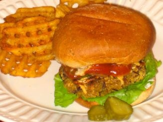 wild rice burgers | Good eats! | Pinterest