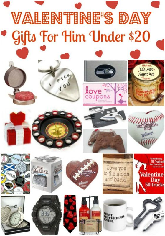 20 Valentine's Day Gifts For Him Under $20