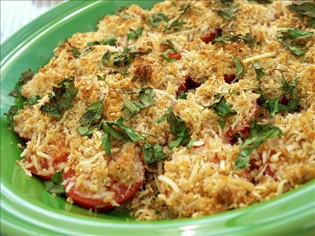 Cherry Tomato Gratin from Food.com: Got this from MSN. Looks like a ...