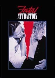Fatal Attraction. Michael Douglas, Glenn Close. 1987.