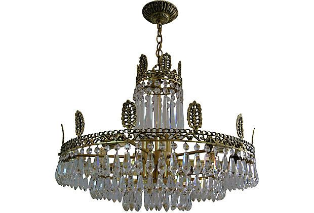Swedish Crystal Chandelier - Traditional - Chandeliers - by Inviting