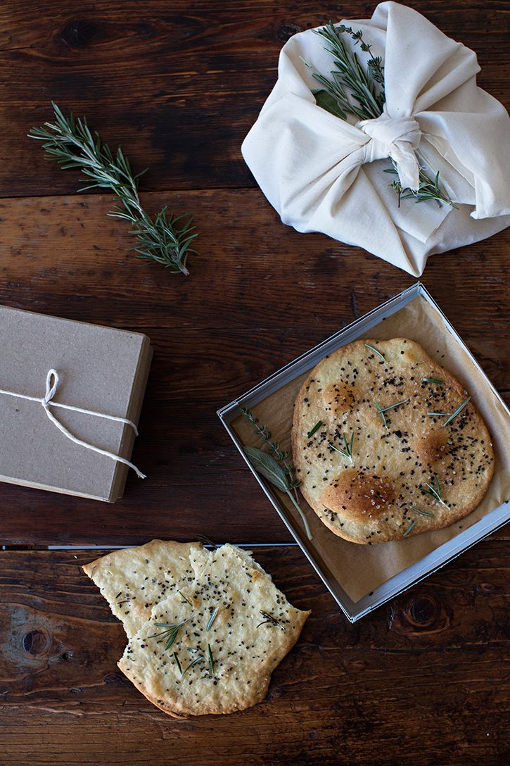 Flatbread Rosemary + Black Sea Salt