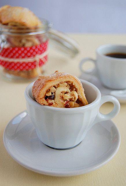 Walnut, cranberry and cinnamon rugelach | brownies, blondies, biscott ...